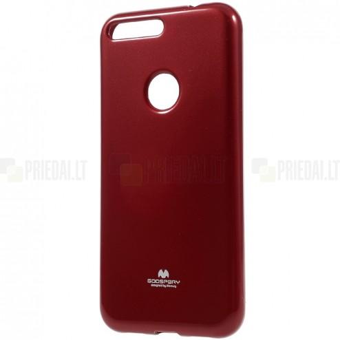 Google Pixel XL Mercury raudonas kieto silikono TPU dėklas - nugarėlė