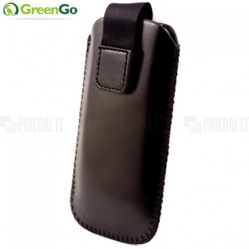 """""""GreenGo"""" Classic juoda odinė įmautė - įdėklas (M dydis)"""