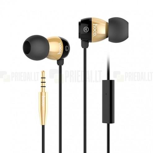 """""""HOCO"""" EPM01 aukso spalvos įkišamos į ausis ausinės (laisvų rankų įranga)"""