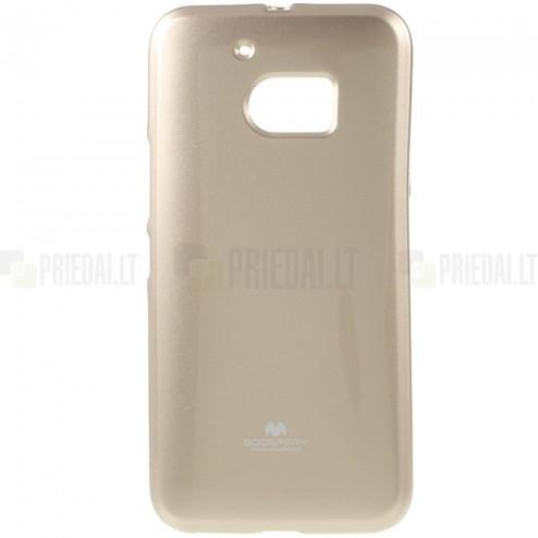HTC 10 (M10 Lifestyle) auksinis Mercury kieto silikono (TPU) dėklas - nugarėlė