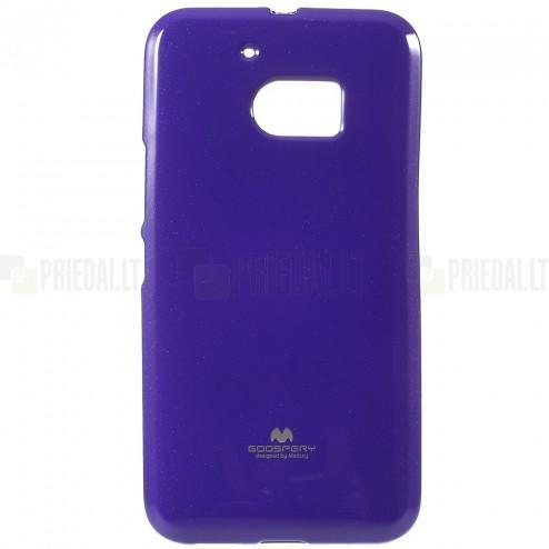 HTC 10 (M10 Lifestyle) violetinis Mercury kieto silikono (TPU) dėklas - nugarėlė