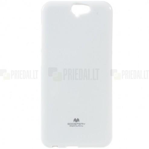 HTC One A9 baltas Mercury kieto silikono (TPU) dėklas - nugarėlė