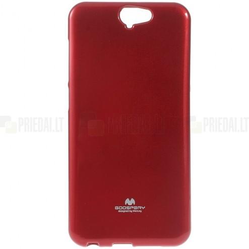 HTC One A9 raudonas Mercury kieto silikono (TPU) dėklas - nugarėlė