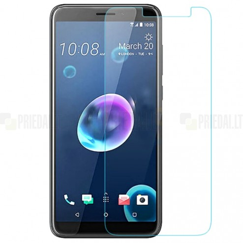 HTC Desire 12 tempered Glass apsauginis ekrano stiklas 0.3 mm