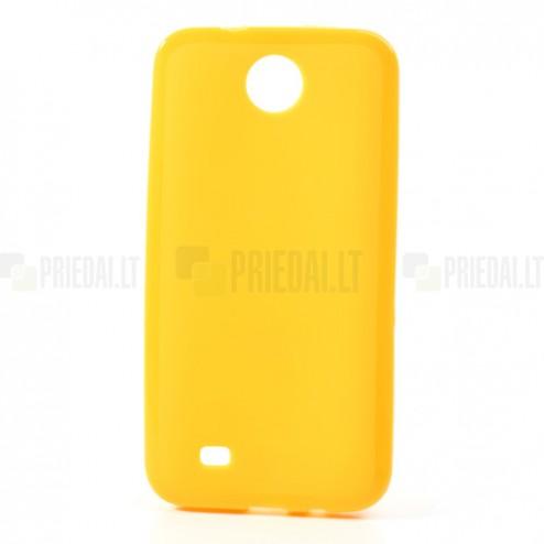 """""""Jelly Case"""" HTC Desire 300 geltonas dėklas"""