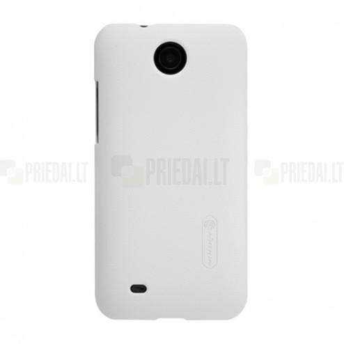 """Nillkin"" Frosted Shield  HTC Desire 300 baltas dėklas"