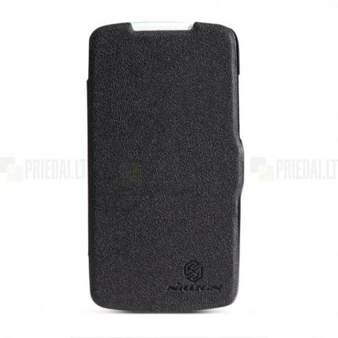"""""""Nillkin"""" Fresh HTC Desire 500 juodas dėklas"""