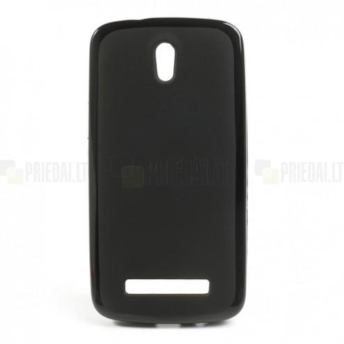 """""""Jelly Case"""" HTC Desire 500 juodas dėklas"""