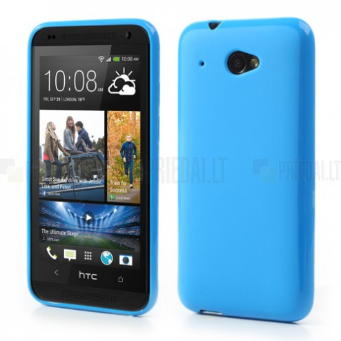 """""""Jelly Case"""" HTC Desire 601 mėlynas dėklas"""