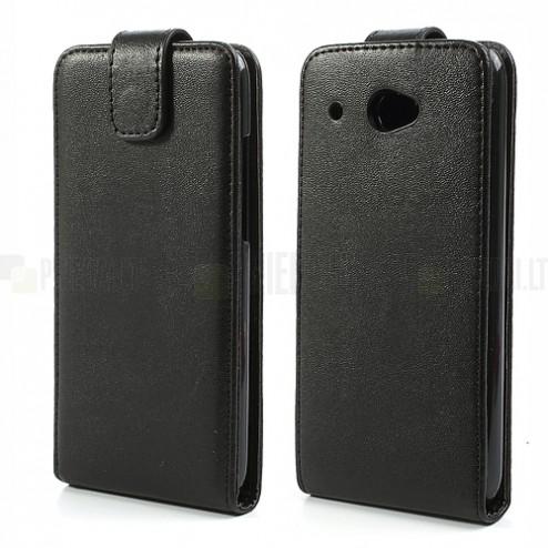 Atverčiamas HTC Desire 601 juodas dėklas