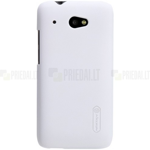 """Nillkin"" Frosted Shield  HTC Desire 601 baltas dėklas"