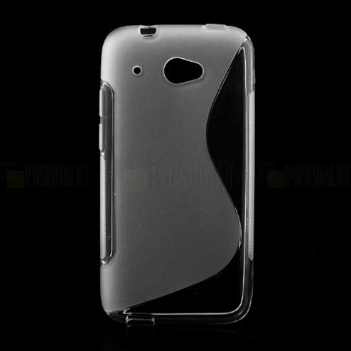 HTC Desire 601 skaidrus dėklas