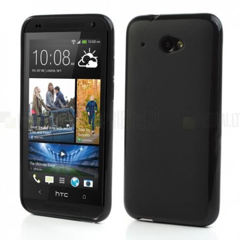"""""""Jelly Case"""" HTC Desire 601 juodas dėklas"""