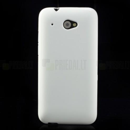 """""""Jelly Case"""" HTC Desire 601 baltas dėklas"""
