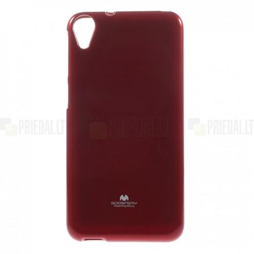 HTC Desire 820 raudonas Mercury kieto silikono (TPU) dėklas