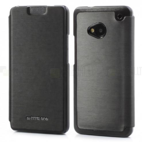 """""""Mercury Goospery"""" atverčiamas HTC One M7 juodas dėklas"""