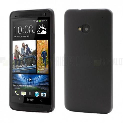 Ploniausias pasaulyje HTC One M7 juodas dėklas