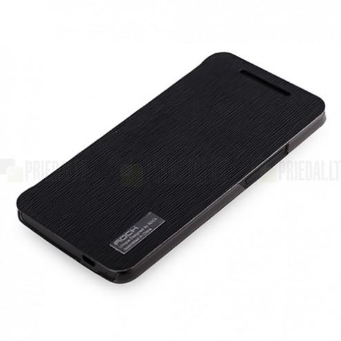 """""""Rock"""" Elegant HTC One M7 juodas dėklas"""