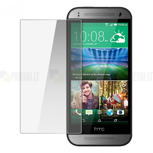 HTC One mini 2 (M8 mini) tempered Glass apsauginis ekrano stiklas 0.3 mm