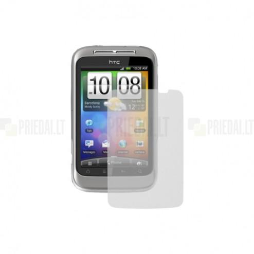 HTC Wildfire S apsauginė skaidri ekrano plėvelė