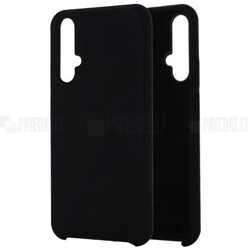 Huawei Honor 20 (Nova 5T) Shell kieto silikono TPU juodas dėklas - nugarėlė