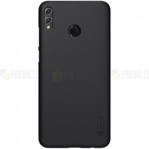 Huawei Honor 8X Nillkin Frosted Shield juodas plastikinis dėklas