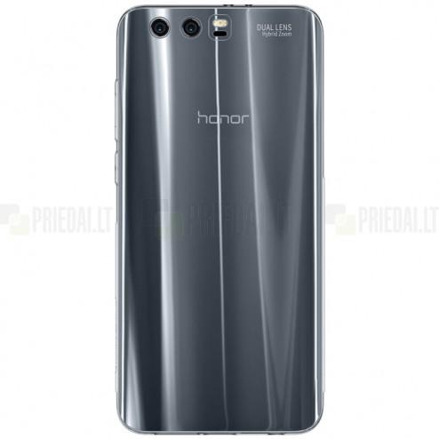 Huawei Honor 9 (Honor 9 Premium) skaidrus (permatomas) silikoninis TPU ploniausias pasaulyje dėklas