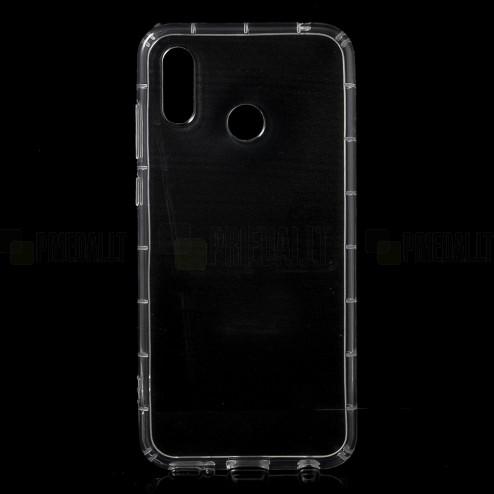 Huawei Honor Play kieto silikono TPU skaidrus dėklas - nugarėlė