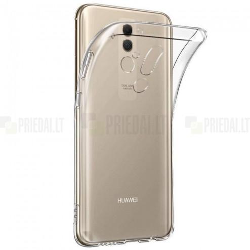 Huawei Mate 20 Lite skaidrus (permatomas) kieto silikono TPU ploniausias pasaulyje bespalvis dėklas