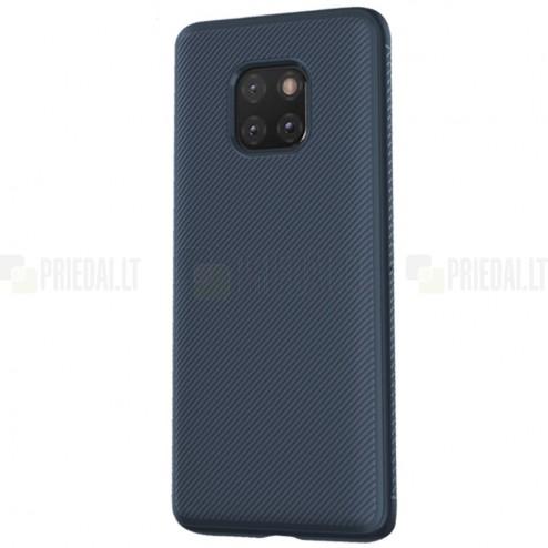 """Huawei Mate 20 Pro """"Lenuo"""" kieto silikono TPU mėlynas dėklas - nugarėlė"""