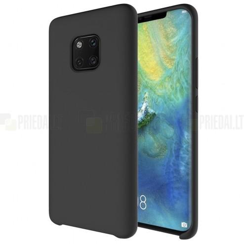 Huawei Mate 20 Pro Shell kieto silikono TPU juodas dėklas - nugarėlė
