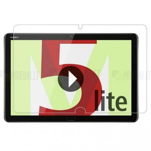 Huawei MediaPad M5 Lite 10 Tempered Glass sustiprintos apsaugos apsauginis ekrano stiklas 0.33 mm