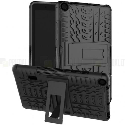 Huawei MediaPad T3 7.0'' Wi-Fi (BG2-W09) sustiprintos apsaugos juodas dėklas - nugarėlė