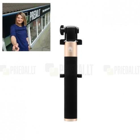 """""""Huawei"""" teleskopinė asmenukių (selfie) auksinė fotogravimo lazda (laikiklis) - monopod"""