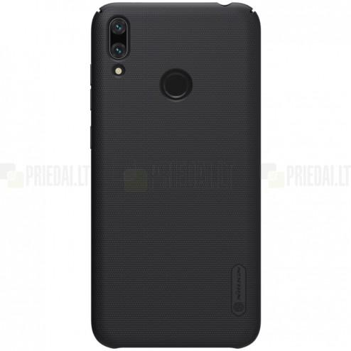 Huawei Y7 2019 (Y7 Prime 2019) Nillkin Frosted Shield juodas plastikinis dėklas