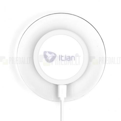 """""""ITian"""" Magic Disk 3 baltas belaidis įkroviklis (Qi standartas)"""