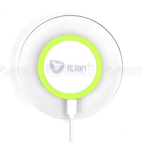 """""""ITian"""" Magic Disk 3 žalias belaidis įkroviklis (Qi standartas)"""