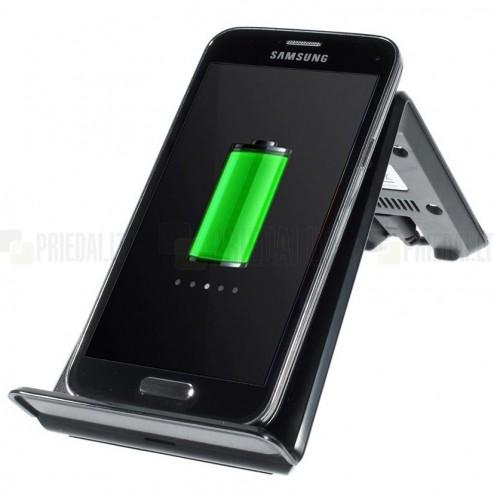 """""""ITian"""" A6 Qi Wireless juodas belaidis įkroviklis (Qi standartas)"""