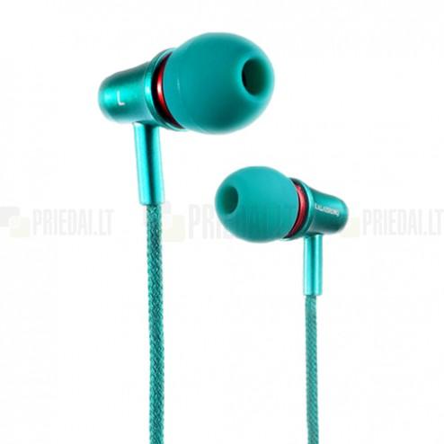 """""""Kalaideng"""" Teanan žalios įkišamos į ausis ausinės"""