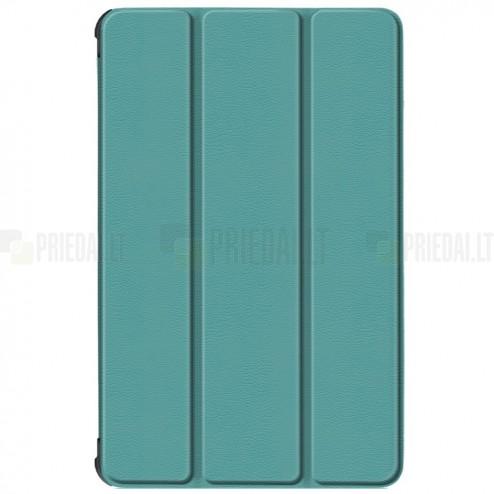 """Lenovo Tab M10 10.1"""" HD 2 Gen (TB-X306F, X306X) atverčiamas žalias odinis dėklas (sulankstomas)"""