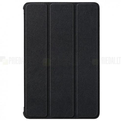 """Lenovo Tab P11 Pro 11.5"""" (J706F) atverčiamas juodas odinis dėklas (sulankstomas)"""