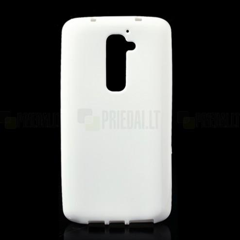 """""""Jelly Case"""" baltas LG G2 dėklas"""