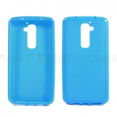 """""""Jelly Case"""" mėlynas LG G2 dėklas"""