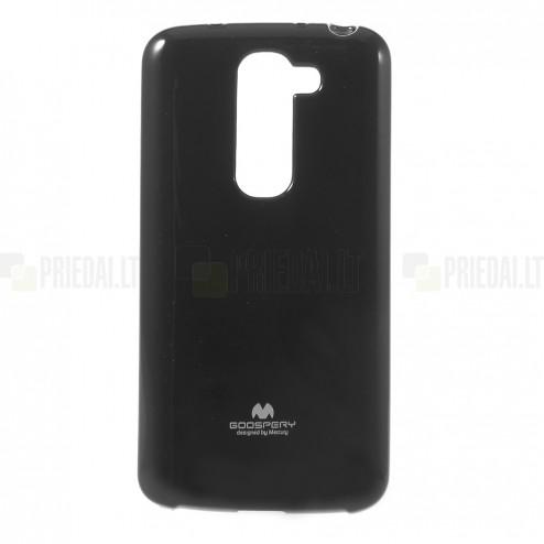 """""""Mercury"""" juodas LG G2 mini D620 dėklas (dėkliukas)"""
