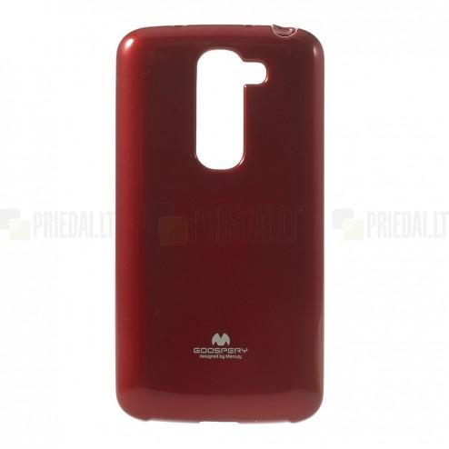 """""""Mercury"""" raudonas LG G2 mini D620 dėklas (dėkliukas)"""