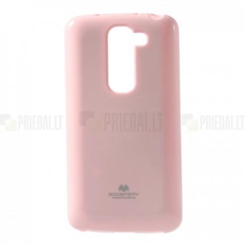"""""""Mercury"""" rožinis LG G2 mini D620 dėklas (dėkliukas)"""