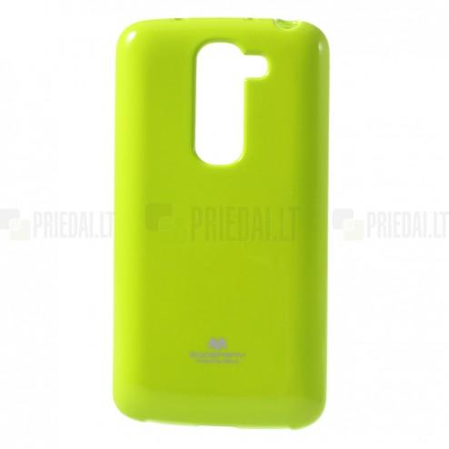 """""""Mercury"""" žalias (salotinis) LG G2 mini D620 dėklas (dėkliukas)"""