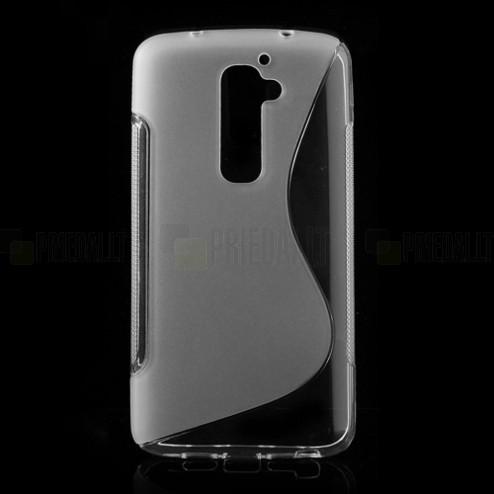 """""""S-Curve"""" skaidrus LG G2 dėklas"""