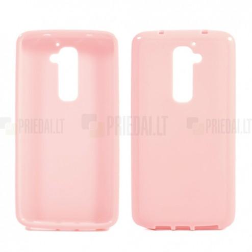 """""""Jelly Case"""" rožinis LG G2 dėklas"""