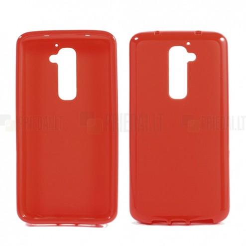 """""""Jelly Case"""" raudonas LG G2 dėklas"""